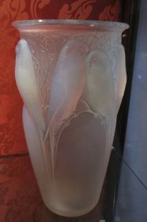Tasación de jarrón Ceylan de René Lalique 1924