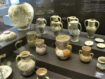 ceramica islamica, museo de málaga