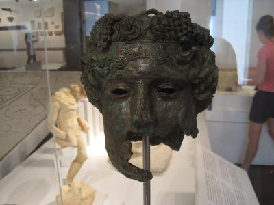 Dios Baco, Museo de malaga