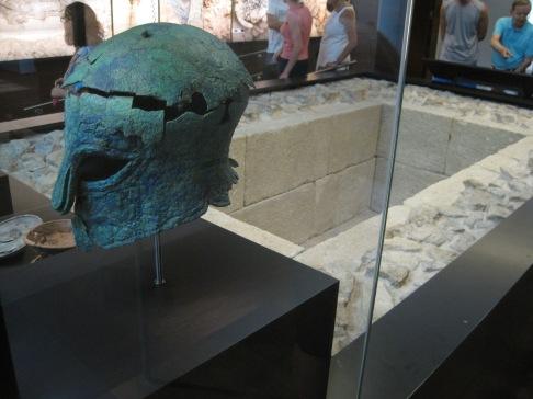 Tumba del guerrero, museo de malaga