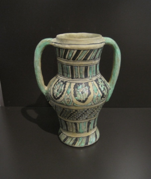 Jarra ceramica arabe, Museo de Málaga
