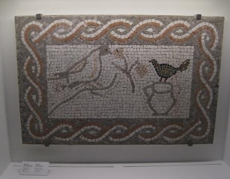 mosaico romano, museo de Málaga