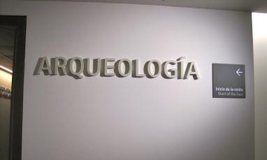 Planta Arqueología. museo de Málaga